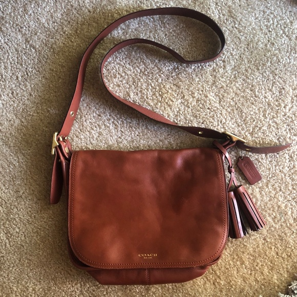 Coach Handbags - Brown Leather Coach Purse